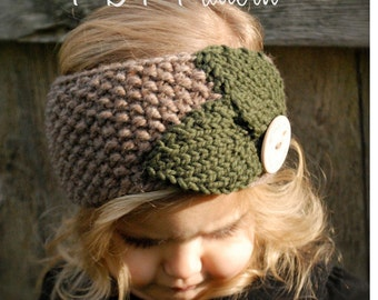 Knitting PATTERN-The Jordynn Warmer (Toddler, Child, Adult sizes)