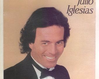 Julio Iglesias, 1100 Bel Air Place, Songs in English, Vintage Vinyl Record Album Columbia Lp