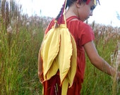 Fairy Wings - Costume - Halloween - Fall Colors - Organic - Eco Friendly - Dress Up - Eco Toys