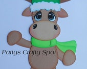 Christmas Winter Moose Paper Pieicng by Pattys Crafty Spot