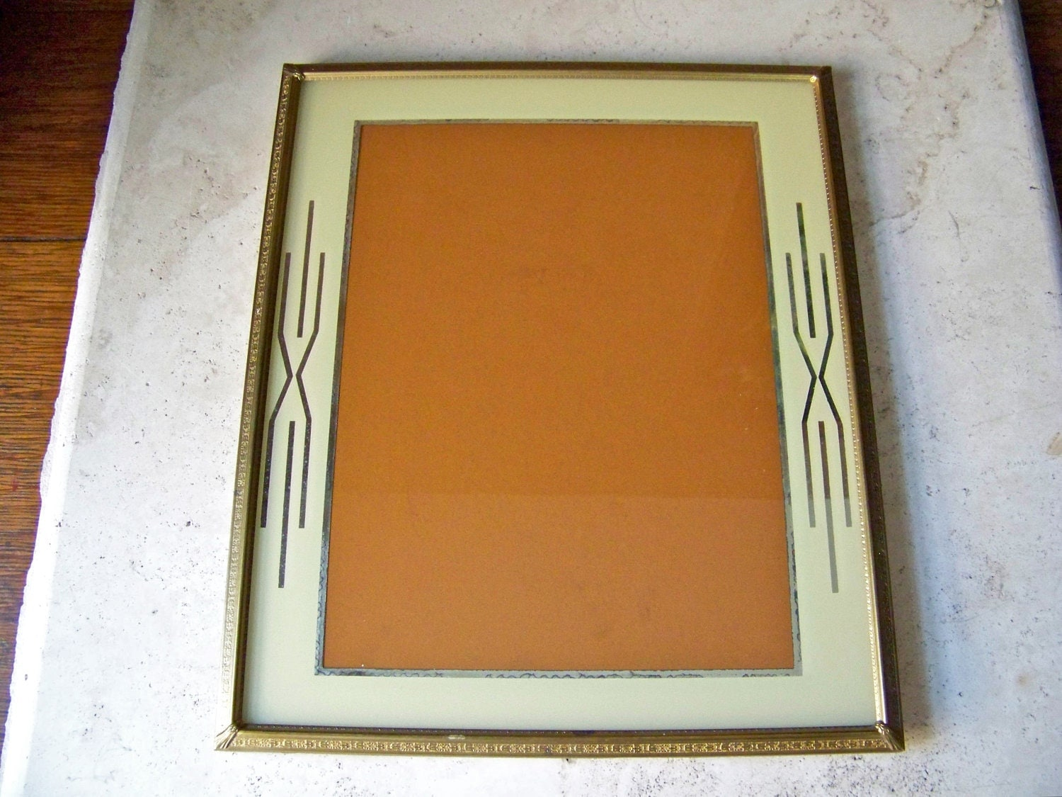 Vintage Art Deco Frame Reserved By Cynthiasattic On Etsy
