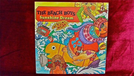 The BEACH BOYS - Sunshine Dream - 1982 Vintage Vinyl 2 lp Record Album