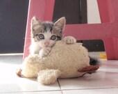 Quacky Duck Handmade Terry Cloth Pet Toy