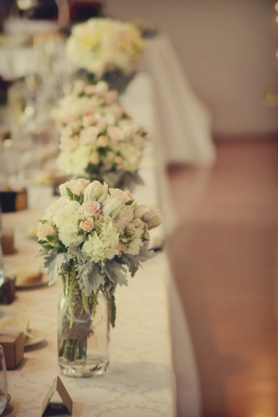 Items similar to vintage wedding centerpieces centerpiece