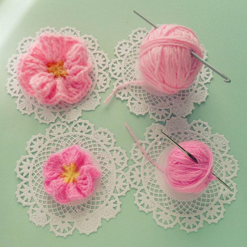 Easy Crochet Flower Pattern For Beginners ~ Dancox for .