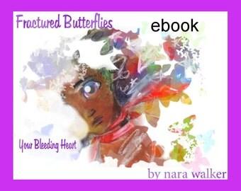 Instant Download Fractured Butterflies, horror comic