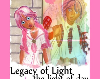 Light of Day, magical girl manga ebook (instant download)
