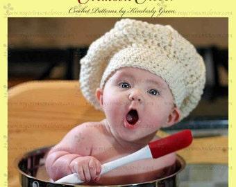 Baby Hat Pattern Crochet - Le Petit Chef Hat