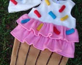 Baby Cupcake with Sprinkles costume - for Halloween or just as a photo-prop - Sizes 12-18 months, 2T, 3T & 4T