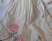 Hand Embroidered Baby Doll Dress
