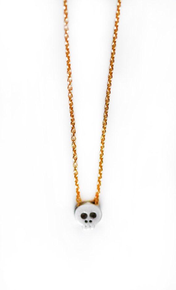 Itsy Bitsy Skull Necklace
