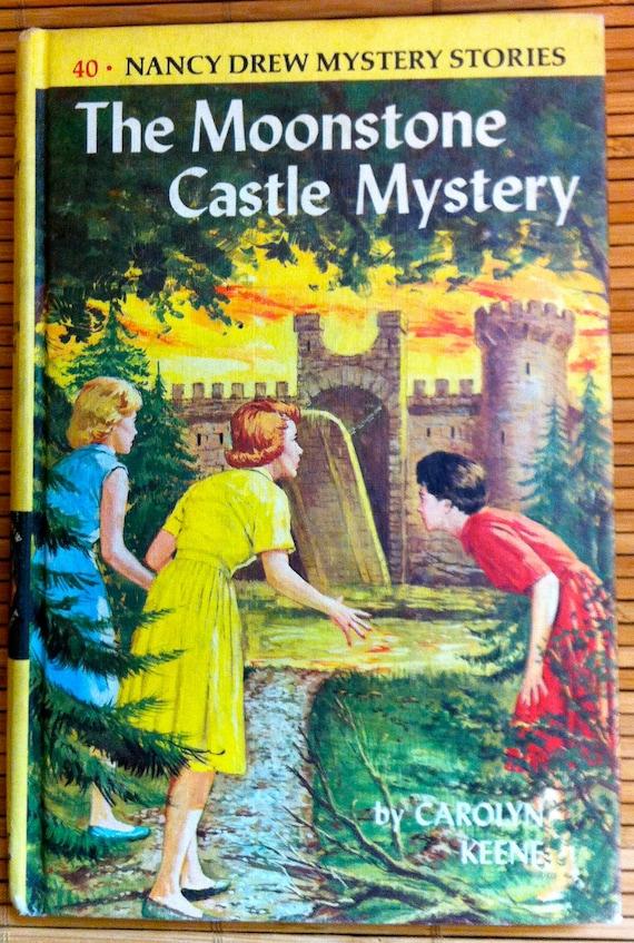 Nancy Drew - The Moonstone Castle Mystery - Carolyn Keene - 1963 printing
