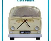 Styrofoam/Polystyrene/EPS Foam Bus Clock Pattern - DIY Home Decor
