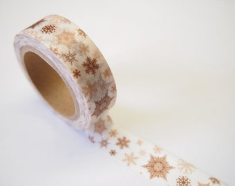 Christmas Snowflake Washi Tape (10M)