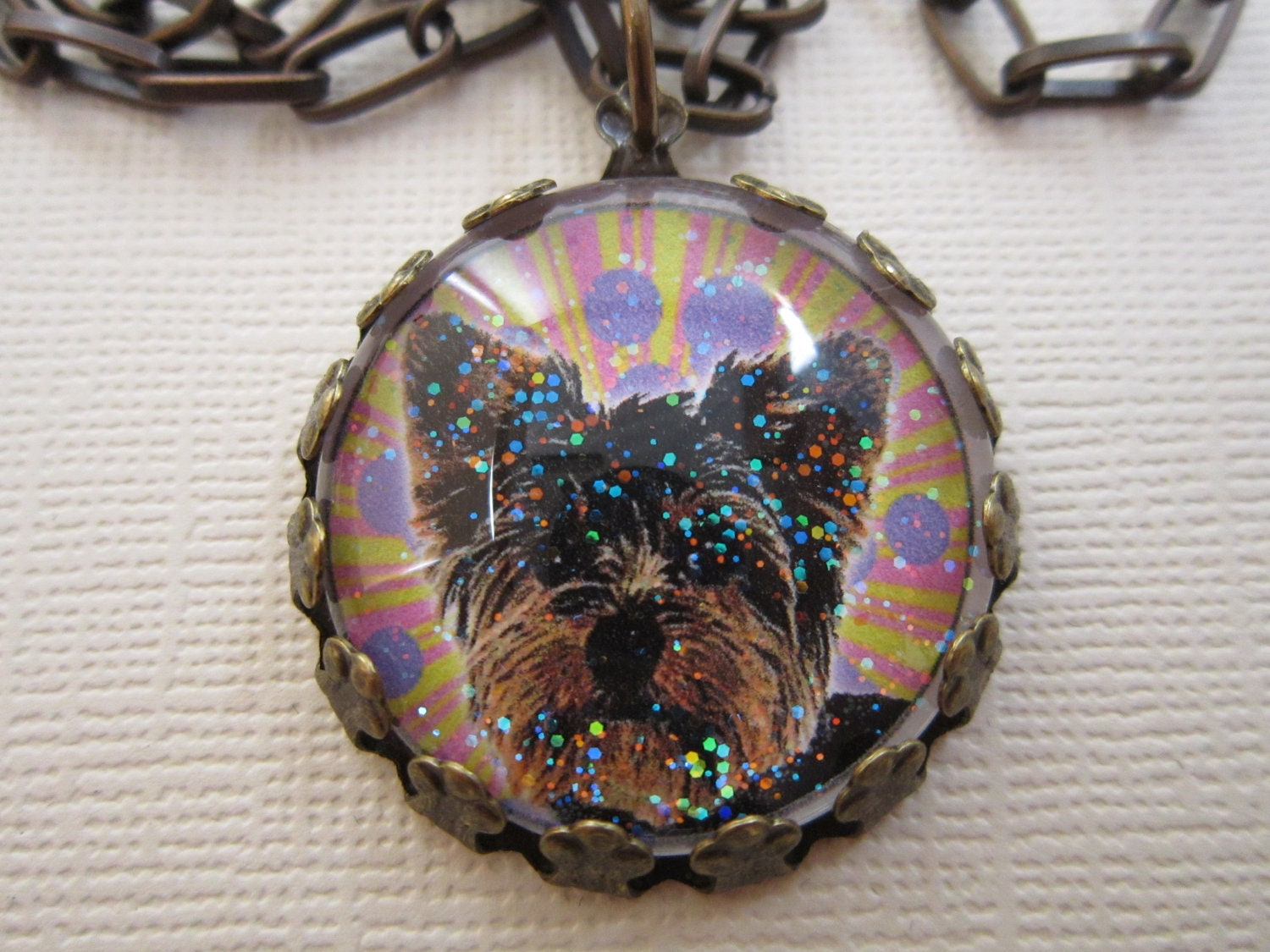 yapping yorkie necklace