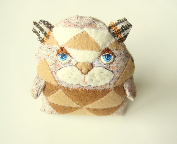 Patches - Woodland Stuffed Animal - Chipmunk Squirrel Hampster hybrid