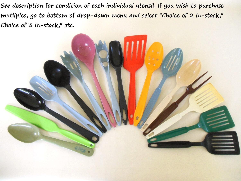 Nylon Plastic Kitchen Utensils Ekco Ensar by LaurasLastDitch
