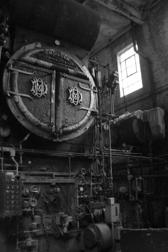 items similar to old boiler room vermont industrial art