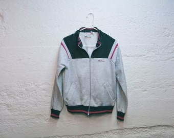 Vintage 80s MACGREGOR Sweatshirt Track Jacket Medium