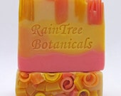 Soap– Summer Citrus Homemade Artisan Cold Process Soap// RainTree Botanicals