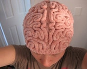 Pink Brain Hat (adult)