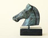 Bronze Horse Sculpture, Greek Metal Art, Parthenon Temple Athens Acropolis, Museum Quality Art, Ancient Greek Art, Equine Decor, Art Decor