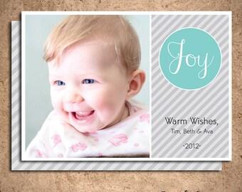 Joy Photo Card (Set of 25)