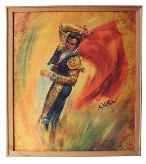 Two Matador Prints by Estaban