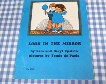 look in the mirror, vintage 1974 children's book