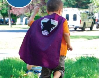 SALE Sizes 8-11 Superhero Cape PDF Sewing Pattern