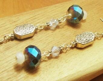 Long  Czech Beaded Earrings