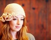 Aubrin - Crochet Pattern - Ruffle Hat / Beanie