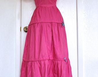 1930's Full Length Party Dress