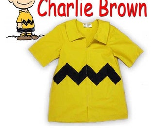 Charlie Brown Shirt for men or boys - Perfect for theater or Cosplay