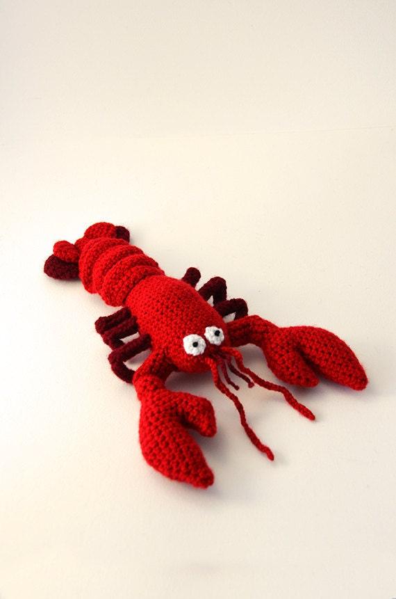 Lobster Crochet Pattern Lobster Amigurumi Pattern Crochet