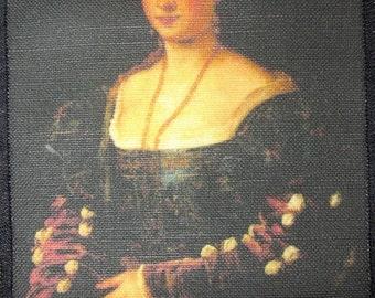 Printed Sew On Patch - LA BELLA - Titian (Tiziano Vecelli) 1488-1576