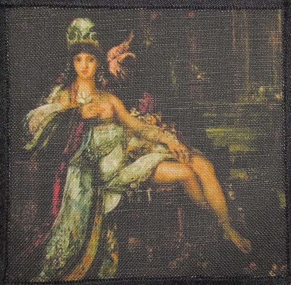 Printed Sew On Patch - DELILAH DETAIL - Gustav Moreau 1826-1898 - p205
