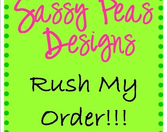 Rush My Order - Moves order to the front of the line.