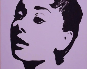 Pop Art - Audrey Hepburn