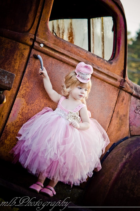 Baby Girl Tutu Dress, Crochet Top Tutu Dress, Pageant Dress, Baby Tutu, Children Tutu, Photo Prop