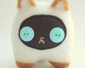 Sammy the Siamese Kitty: Tiny, Happy Plush Stuffed Kitten Cat