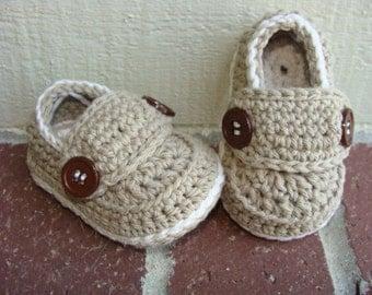 Baby LoafersNewborn Baby Bootiescrochet Baby Booties Baby