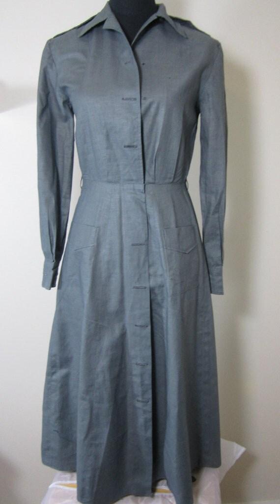 Vintage Unworn 1964 Army Military Uniform Dress 60s NOS VTG Mint Deadstock