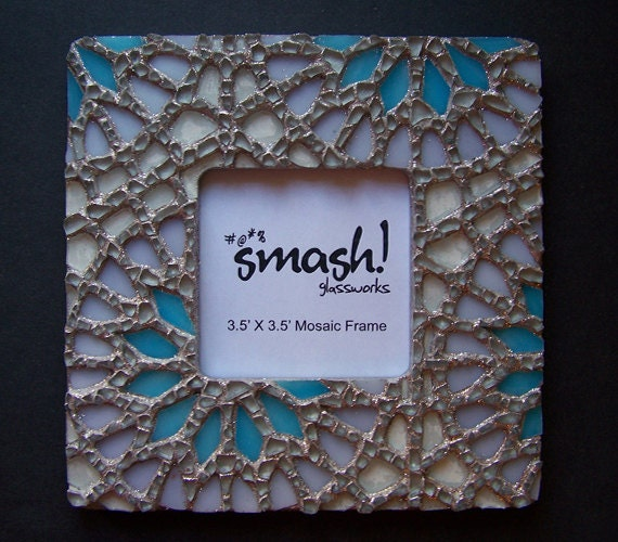 """Mosaic Picture Frame - """"Winter"""""""