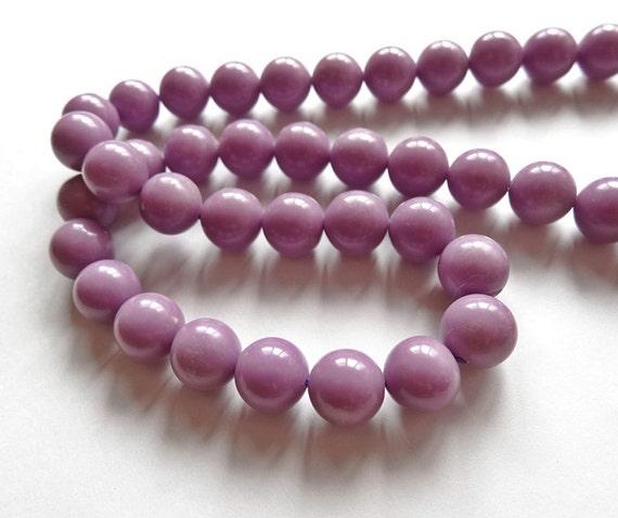 A grade Rare Phosphosiderite Smooth 10 mm Rounds 5 Beads H5978