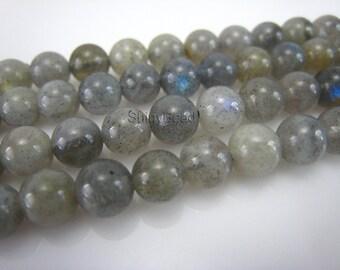 labradorite round bead 6mm 15 inch strand