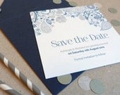 Save the Date Card - Eden Wedding Range - Wedding Invitation