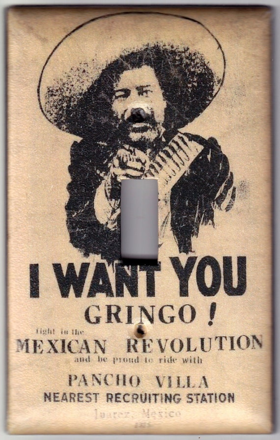 I Want To Be With You: Vintage I Want You Gringo Pancho Villa Mexican