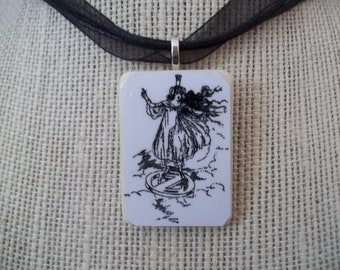 Choice Ozma from the Wizard of Oz handcrafted Game Piece Pendant and Necklace