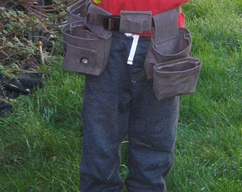 Toddler's Tool Belt, Fishing Belt, Gardening Belt, DIY Belt, Christmas present, Daddy's Little Helper Belt